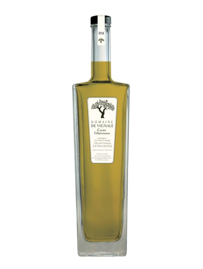 Cuvée d'huile d'Olive Corse Ghjermana. Domaine de Vignale