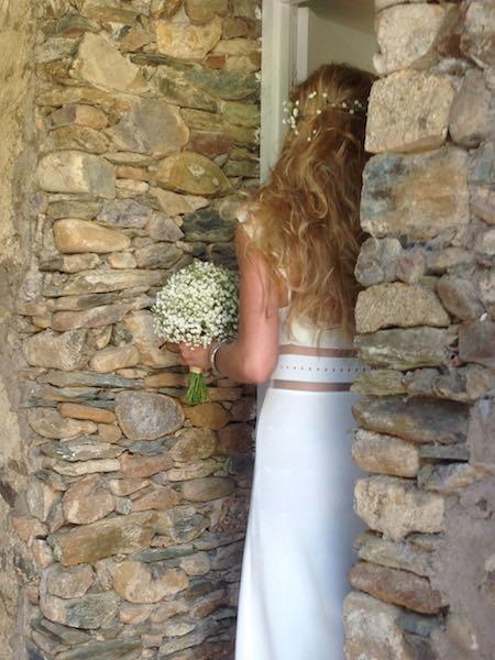 Un lieu magique pour un mariage en Corse. Domaine de Vignale