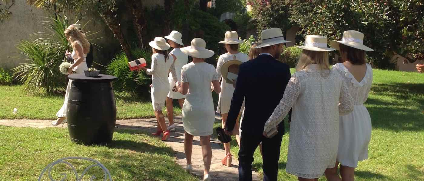 Organisation réussie de son mariage en Corse. Domaine de Vignale
